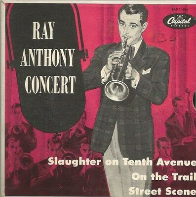 Ray Anthony Concert - Slaughter On Tenth Avenue (Vinyl-Single 1953) !!!