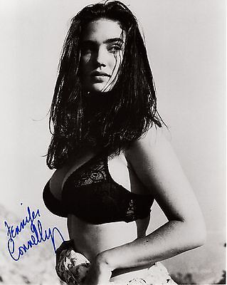 JENNIFER CONNELLY autographed 8x10 photo          YOUNG+VERY SEXY POSE