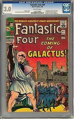 Fantastic Four #48 CGC 3.0 (OW) 1st Silver Surfer 1st Galactus