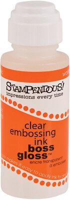 Stampendous Boss Gloss Embossing Ink 2oz-Clear