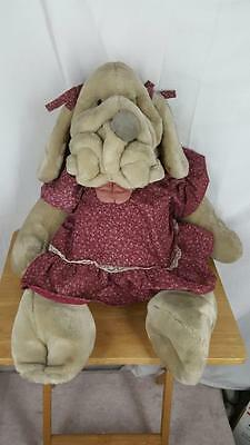 VTG Ganz Heritage Collection WRINKLES Puppy Dog PUPPET Plush Stuffed Toy