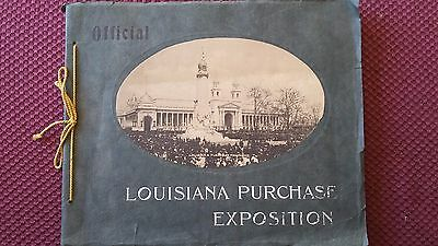 1904 ST LOUIS WORLD'S FAIR Official Louisiana Purchase Exposition 25 pages