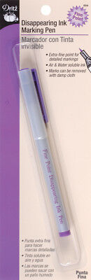 Disappearing Ink Marking Pen - Fine-Purple