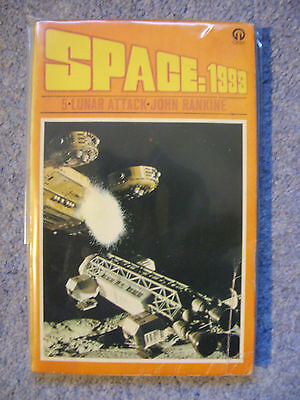 'Space:1999 - Lunar Attack' by John Rankine - Book 5 - P/back - Gerry Anderson