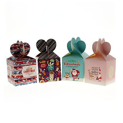 DIY Candy Cake Cookie Christmas Gift Boxes for Xmas Wedding Party Gifts