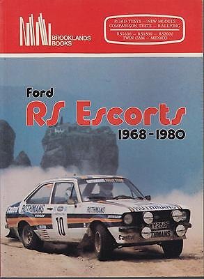 Ford Escort Mk1 Mk2 Rs1600 Rs1800 Rs2000 Twin Cam Mexico 1968-80 Road Test Book