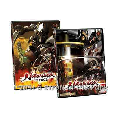 Nobunaga The Fool: Complete Anime Series Collection 1 & 2 Box/ DVD Set(s) NEW!