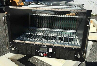 New! KineticSystems 1502 Powered 25-Station CAMAC Crate 1502-310 1502-P2C NIB