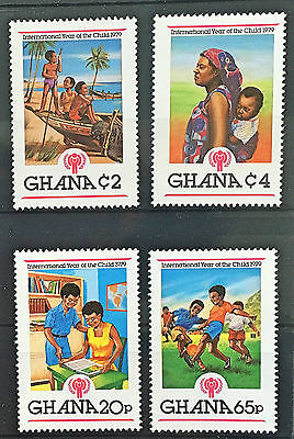 MINT stamps - Ghana 'Year of the Child' 1979 (2)