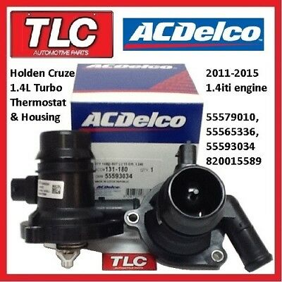 Genuine Holden Cruze JH Turbo 1.4 iti Thermostat ACDelco 11-15 55579010 555...