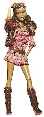 2009 ARTSY NIKKI Fashionistas Barbie Doll  Articulated New in Box