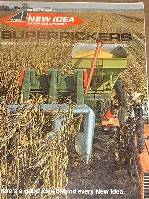 New Idea Superpickers Sales Brochure