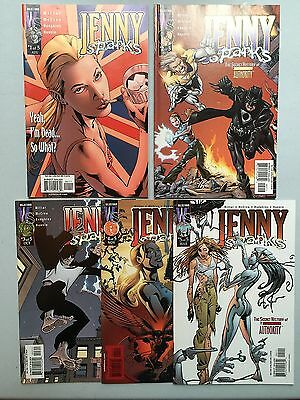 Complete Set: JENNY SPARKS (WildStorm, 2000) The Secret History of the Authority