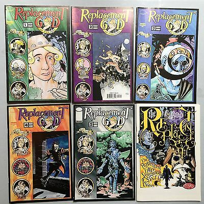 Complete Set: REPLACEMENT GOD AND OTHER STORIES (Image, 1997) #1 to #6