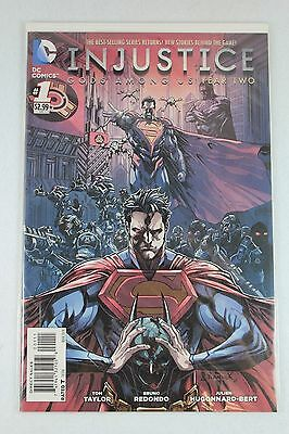DC Comics Injustice Gods Among Us: Year Two #1 001 Regular Cover First Print