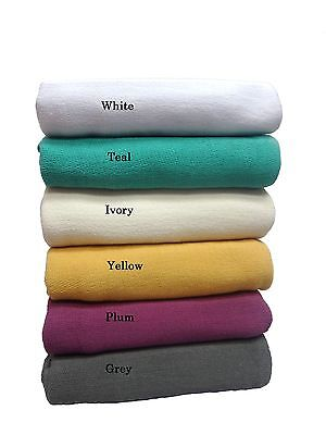 Premium 100% Cotton Summer Cross Stich Blanket 340GSM. Light & Soft. All sizes
