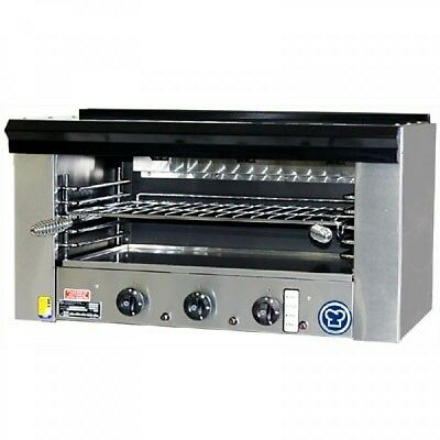 GOLDSTEIN SA 36FF Salamander Natural Gas Used. Commercial grill. RRP $3,000+