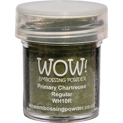 WOW! Embossing Powder 15ml-Chartreuse