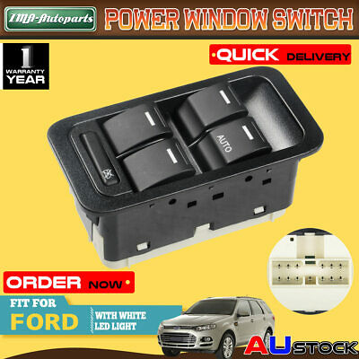 Electric Master Window Switch for Ford Territory SX SY SZ W/ Illuminated 13 Pi