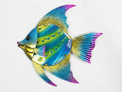 12 garden décor large fish wall art 28x1.8x29.5cm bulk wholesale lot