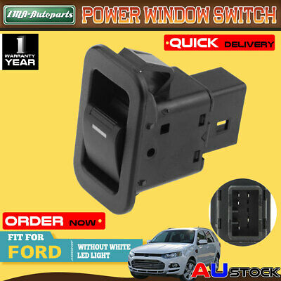 For Ford Territory SX SY TX 04-11 Non-illuminated  Single Power Window Switch