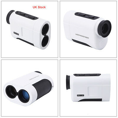 600m 6X High Accuracy Rangefinder Golf/Hunting Laser Compact Range Finder w/ Bag