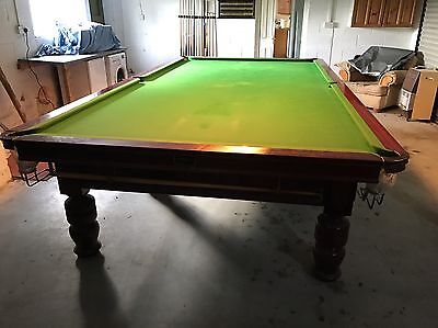 Riley Slate 12ft Full Size Snooker Table plus accessories