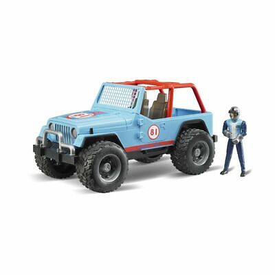 Bruder Jeep Cross Country Racer, blau 02541