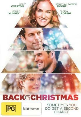 Back To Christmas - Drama Christmas Movie DVD R4 New!