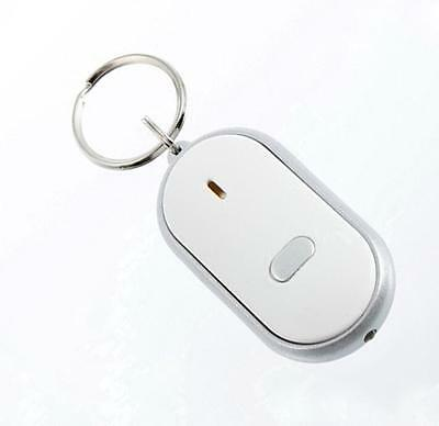 LED Key Finder Locator Keychain Find Lost Keys  Whistle Sound Control