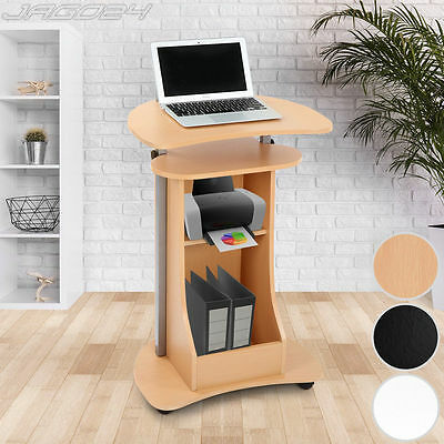 Computer Desk PC Table Workstation Height Adjustable Stand Home Office Furniture