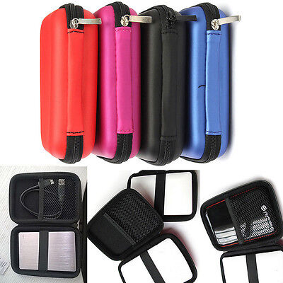 2.5 inch Portable Bag Compartment Disk Drive Hard Box Carrying Travel Case Cover