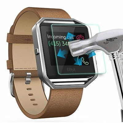 Fitbit BLAZE Smart watch Tempered Glass Full Screen Protection Protector