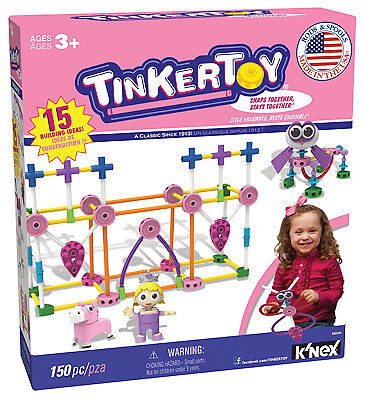 KNEX LIMITED PARTNERSHIP GROUP - Building Set, Pink, 150-Pc.
