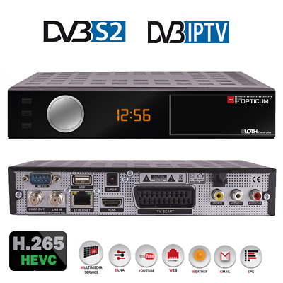 Opticum HD Sloth Classic Plus DVB-S/S2 Digital IP Receiver,HDTV, H.265, HEVC, HD