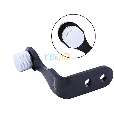 L-Shape Metal Binocular Adapter Mount Tripods Bracket  For Binocular Telescope