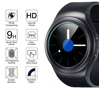 Samsung Galaxy Gear S2 Gear Fitness Smart watch Tempered Glass Screen Protector