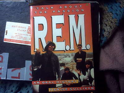REM rare softbound book,TALK ABOUT THE PASSION,AN ORAL HISTORY