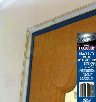 Around Door Seal heavy duty rubber draught excluder proofing strip by Stormguard