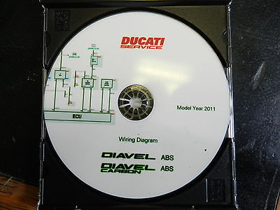 Ducati Diavel 1200 ABS Wiring Diagrams MY 2011 Part No 91471141A