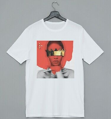 Rihanna Anti  Ideal Gift Retro  Cool Designer, Short Sleeve Mens T Shirt