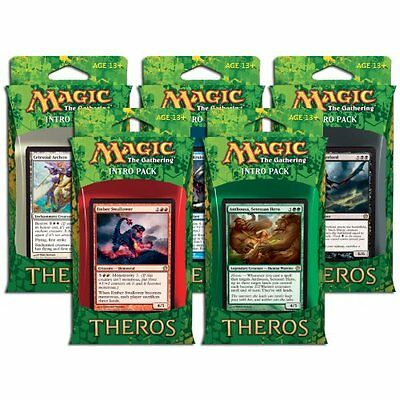 MTG THEROS * Theros Intro Pack - Complete Set of 5