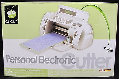 Cricut Personal Electronic Cutter By Provo Craft