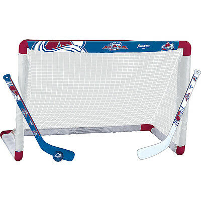 Franklin Sports NHL Colorado Avalanche Mini Hockey Set