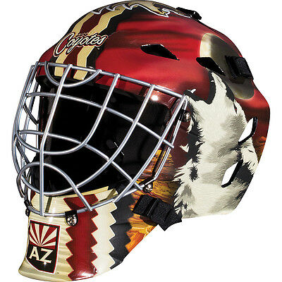Franklin Sports GFM 1500 NHL Arizona Coyotes Goalie Face Mask