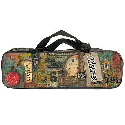 "Designer Accessory Bag 14.5""X2.75""X4.5""-Tim Holtz Distress"