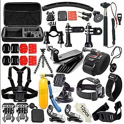 PACK 50 EN 1 maletin transporte 50 accesorios compatibles GOPRO HERO 1 2 3 4 5