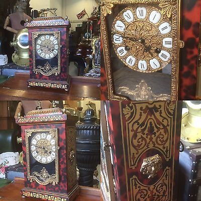A Very Fine Looking Boulle Bracket Clock. Open To Offers.