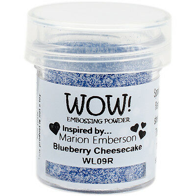 WOW! Embossing Powder 15ml-Opaque Blueberry Cheesecake