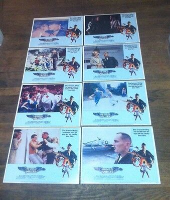 The Great Santini 1979 Orion Pictures Original Movie Lobby Cards Set #1-8 Rare